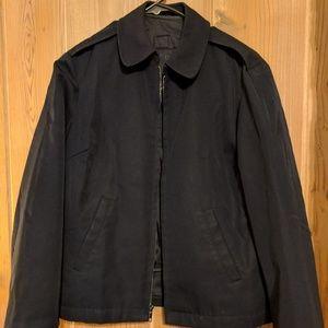 Navy postal like jacket